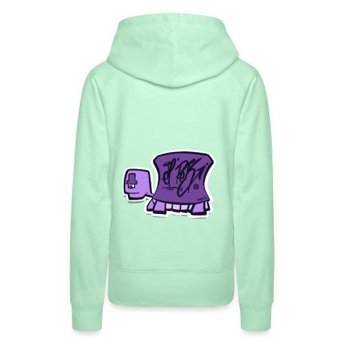 Tag turtle / Schildkröte Logo - Frauen Premium Hoodie