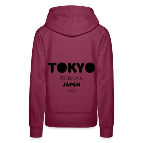 Tokyo JAPAN - Sweat-shirt à capuche Premium pour femmes
