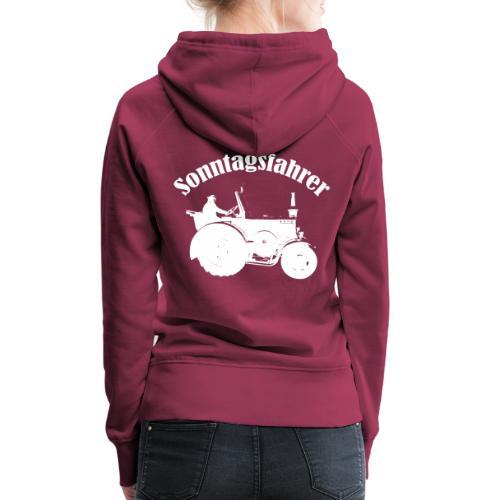 Sonntagsfahrer Landwirt - Frauen Premium Hoodie