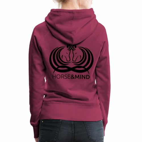 Logo Horse and Mind - Frauen Premium Hoodie