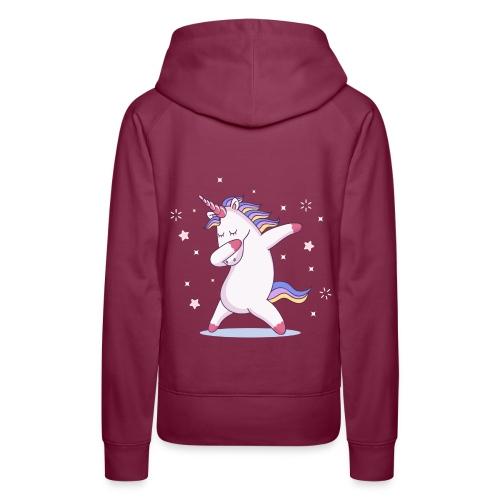 kids unicorn dab - Frauen Premium Hoodie