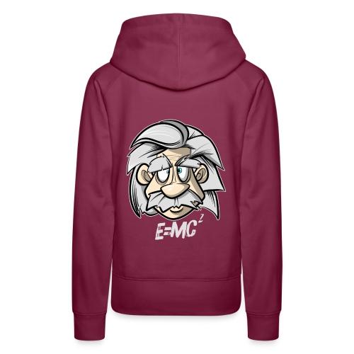 Albert Einstein E=MC2 - Frauen Premium Hoodie