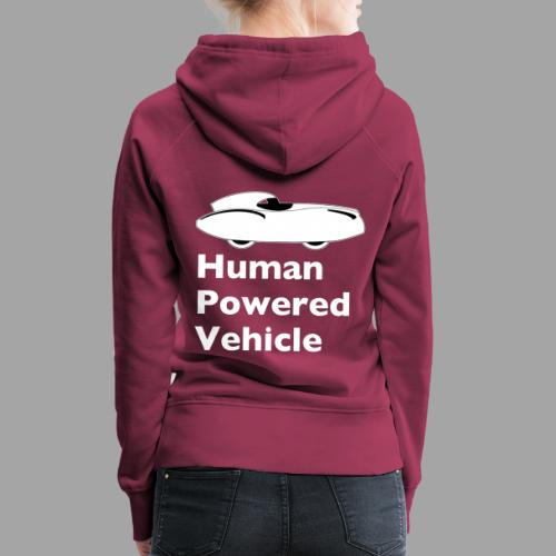 Quattrovelo Human Powered Vehicle white - Naisten premium-huppari