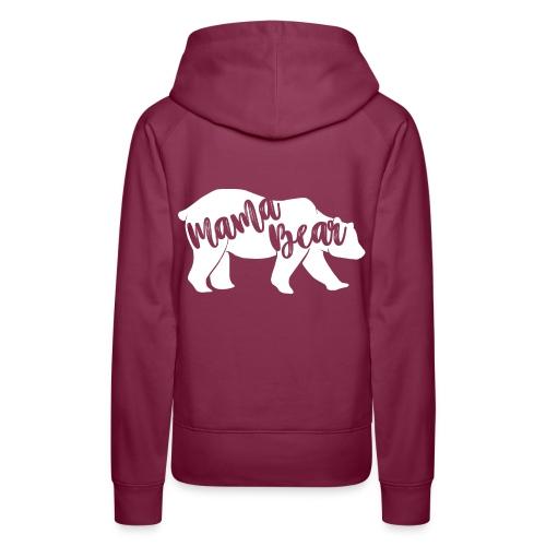 Mama Bear - für Eltern-Baby-Partnerlook - Frauen Premium Hoodie