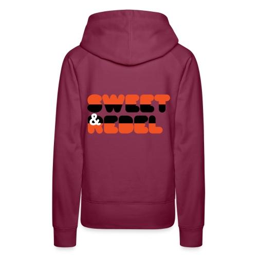 dutch flag 2 0 - Sweat-shirt à capuche Premium pour femmes