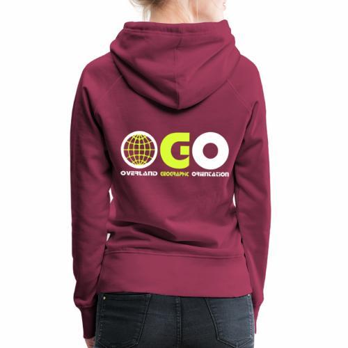 OGO-15 - Sweat-shirt à capuche Premium pour femmes