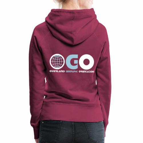OGO-29 - Sweat-shirt à capuche Premium pour femmes