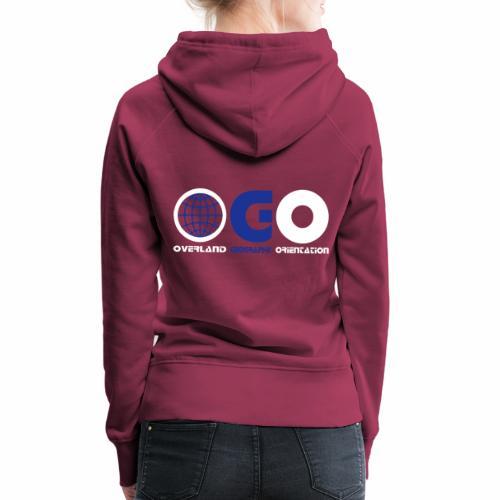 OGO-32 - Sweat-shirt à capuche Premium pour femmes