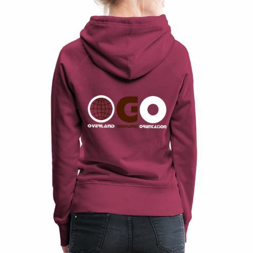 OGO-21 - Sweat-shirt à capuche Premium pour femmes