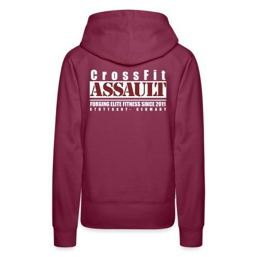 CrossFit Assault Bio Stoffbeutel - Frauen Premium Hoodie