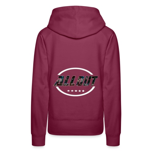 ALL OUT Logo - Women's Premium Hoodie