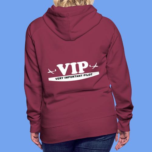VIP Segelflieger gleiten lustig Segelflugzeug - Frauen Premium Hoodie