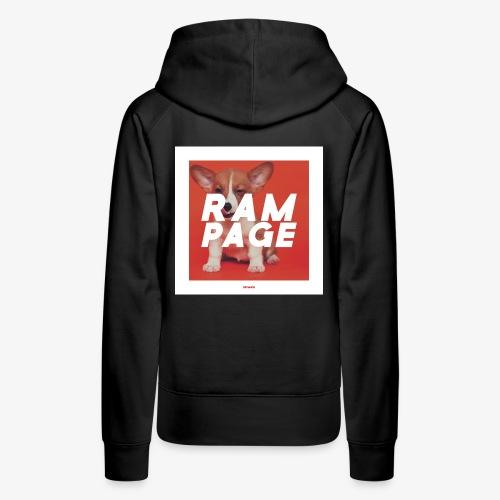 RAMPAGE #01 - Frauen Premium Hoodie