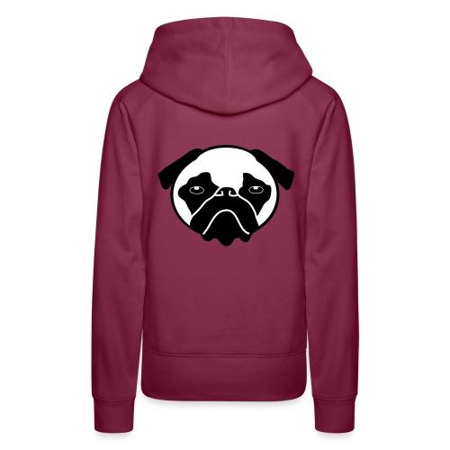Mops, Hund - Frauen Premium Hoodie