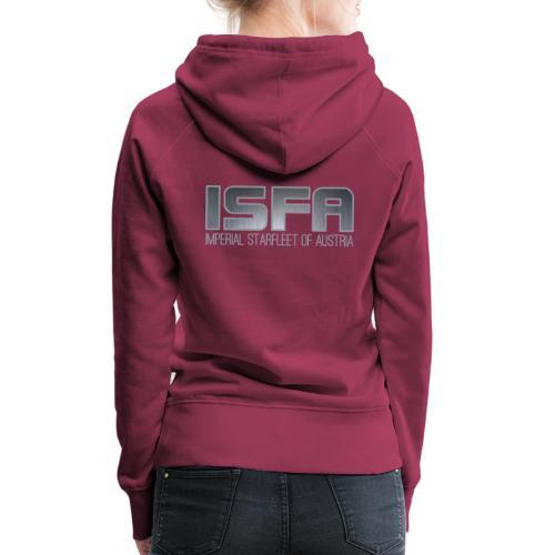 ISFA Logo Abzeichen3 - Frauen Premium Hoodie