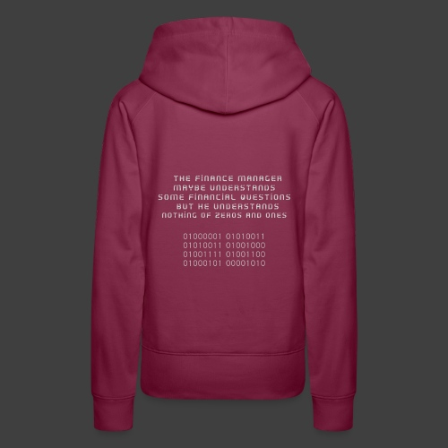 The Financial - Women's Premium Hoodie