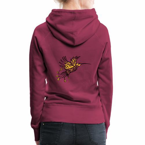 Colibri-Phoenix Orpin - Sweat-shirt à capuche Premium pour femmes