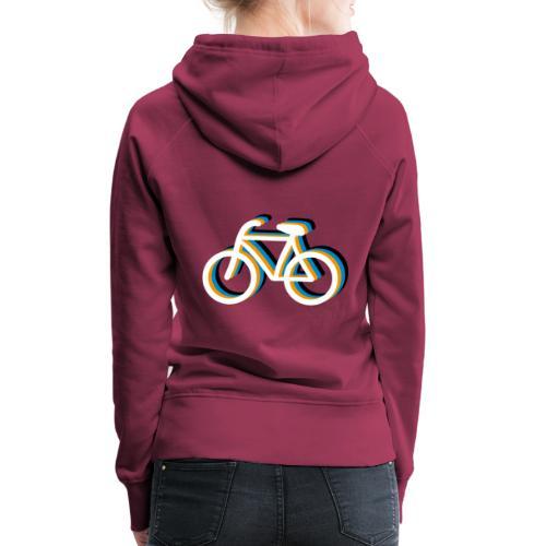 Bicycle Fahrrad - Frauen Premium Hoodie