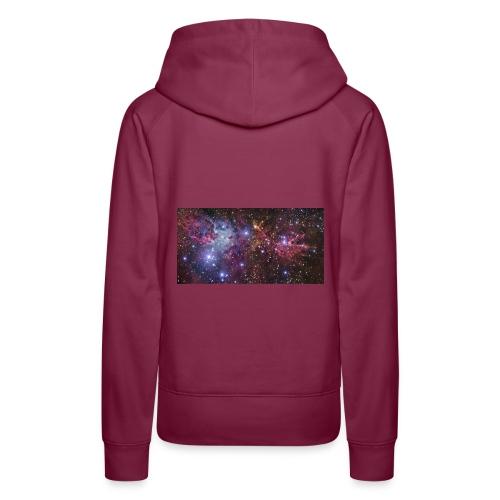Stjernerummet Mullepose - Dame Premium hættetrøje
