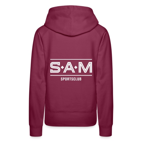 SamSporstclub Logo quer - Frauen Premium Hoodie