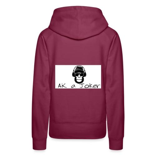 Ak´a Joker mode - Frauen Premium Hoodie