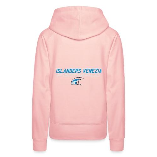 islanders football new logo - Felpa con cappuccio premium da donna