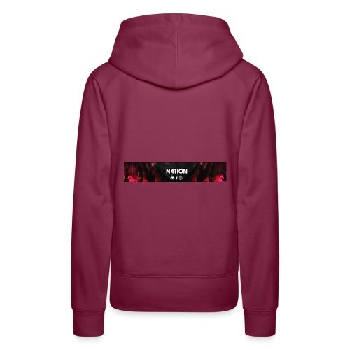 N4TI0N CLAN T-Shirt - Frauen Premium Hoodie