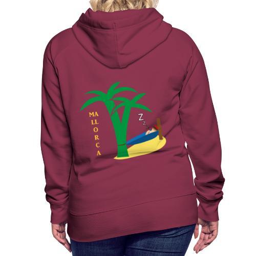 Mallorca - Urlaub unter Palmen - Frauen Premium Hoodie