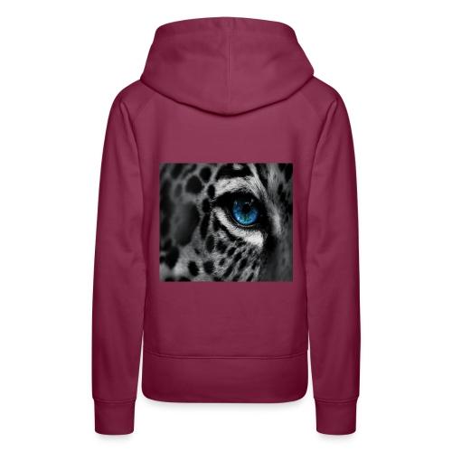 Animal Eye - Sweat-shirt à capuche Premium pour femmes