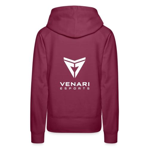 Venari Weiß - Frauen Premium Hoodie