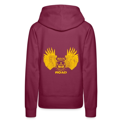 WINGS King of the road light - Vrouwen Premium hoodie
