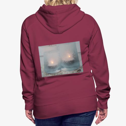 Selectie kaarslicht - Vrouwen Premium hoodie