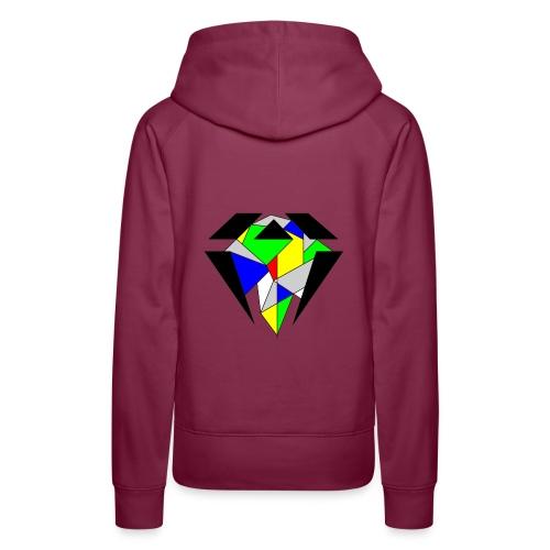 J.O.B. Diamant Colour - Frauen Premium Hoodie
