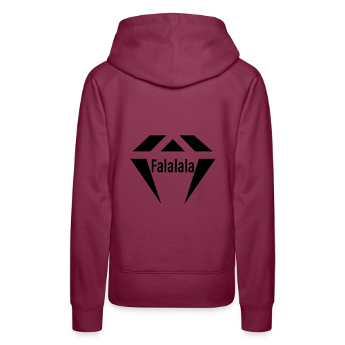 J.O.B Diamant Falalala - Frauen Premium Hoodie