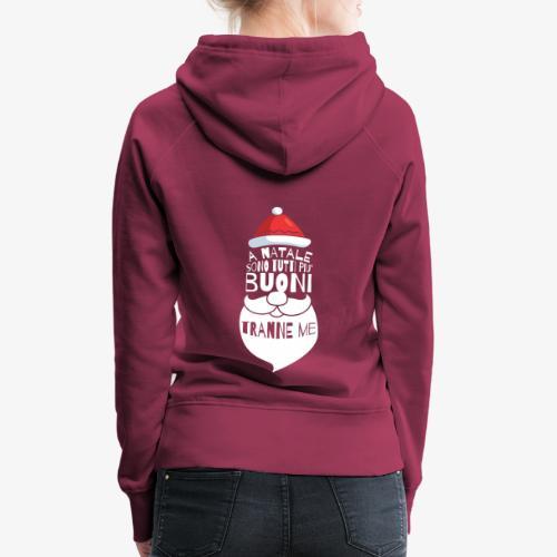 Il regalo di Natale perfetto - Felpa con cappuccio premium da donna