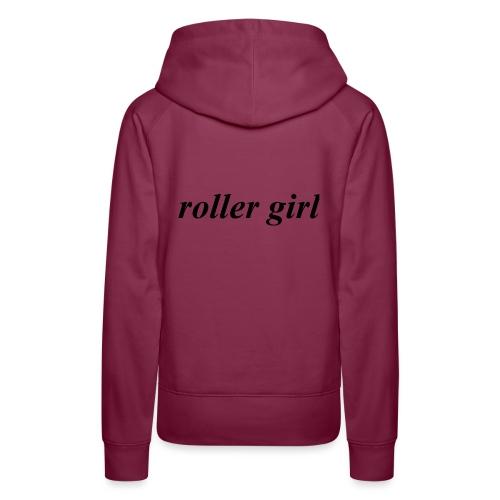 roller girl ♥ - Premiumluvtröja dam