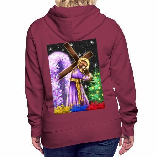 Jesús de Nazareno - Sudadera con capucha premium para mujer