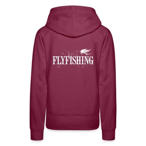 Flyfishing Fliegenfischen Köder Fliege - Frauen Premium Hoodie