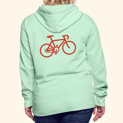 Rennrad, Race-Bike, Fahrrad - Frauen Premium Hoodie
