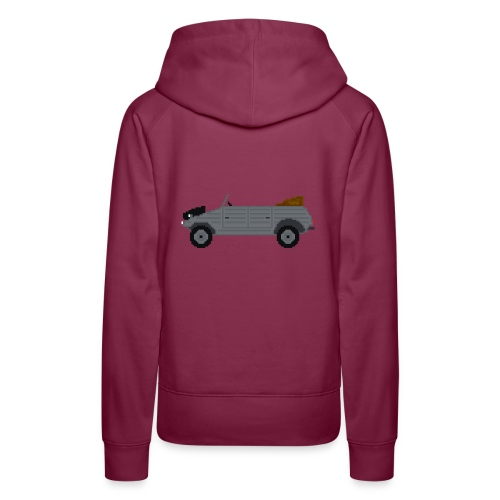 VoIkswagen Kübelwagen - Sweat-shirt à capuche Premium pour femmes