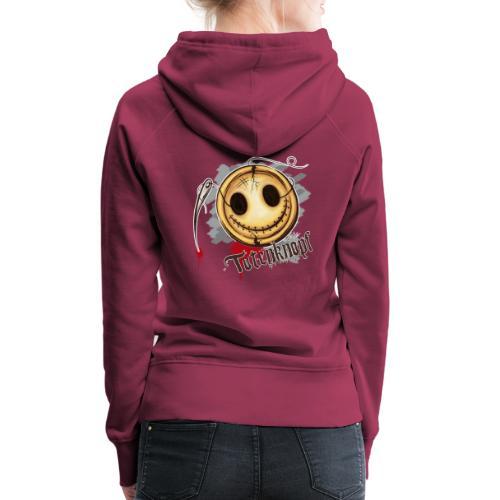 Totenknopf - Frauen Premium Hoodie