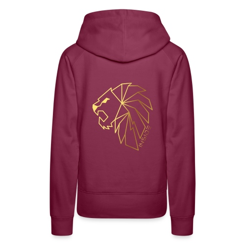 Löwe, Lion Inside - Frauen Premium Hoodie