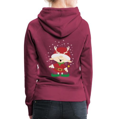 Weihnachtswichtel - Frauen Premium Hoodie