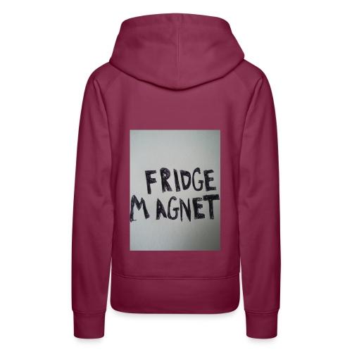 Fridge magnet - Women's Premium Hoodie
