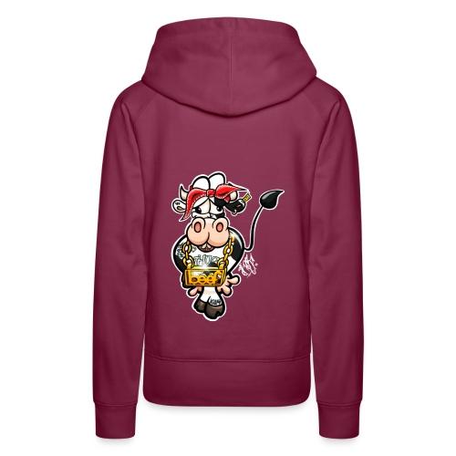 Thug Cow / Gangster Kuh - Frauen Premium Hoodie