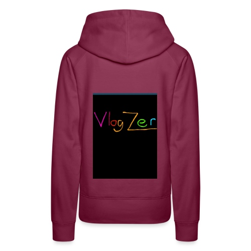 Womens V neck black New - Women's Premium Hoodie