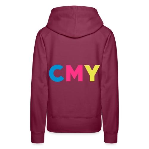 CMYK - Vrouwen Premium hoodie