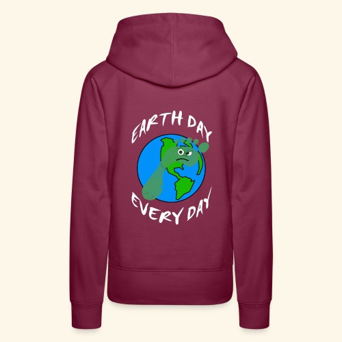 Earth Day Every Day - Frauen Premium Hoodie
