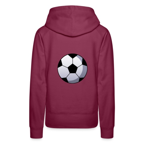 Soccer Ball - Vrouwen Premium hoodie