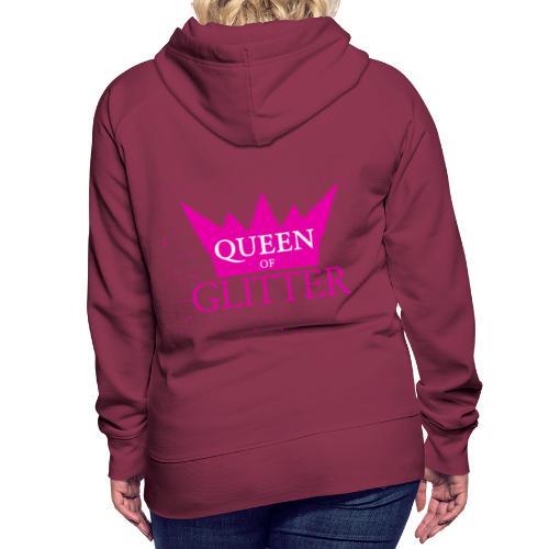 Königin des Glitzer - Frauen Premium Hoodie